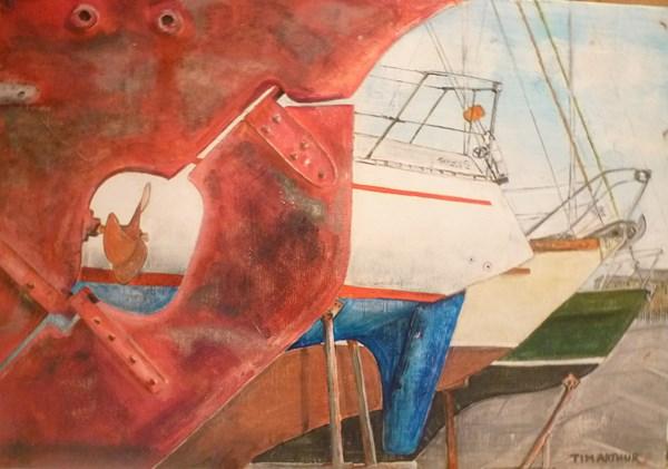 Yacht Stern
