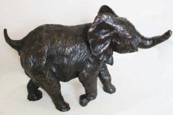 Bronze Baby Elephant