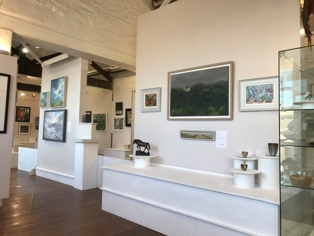 Wales Contemporary Exhibition at the Waterfront Gallery in Miflford Haven