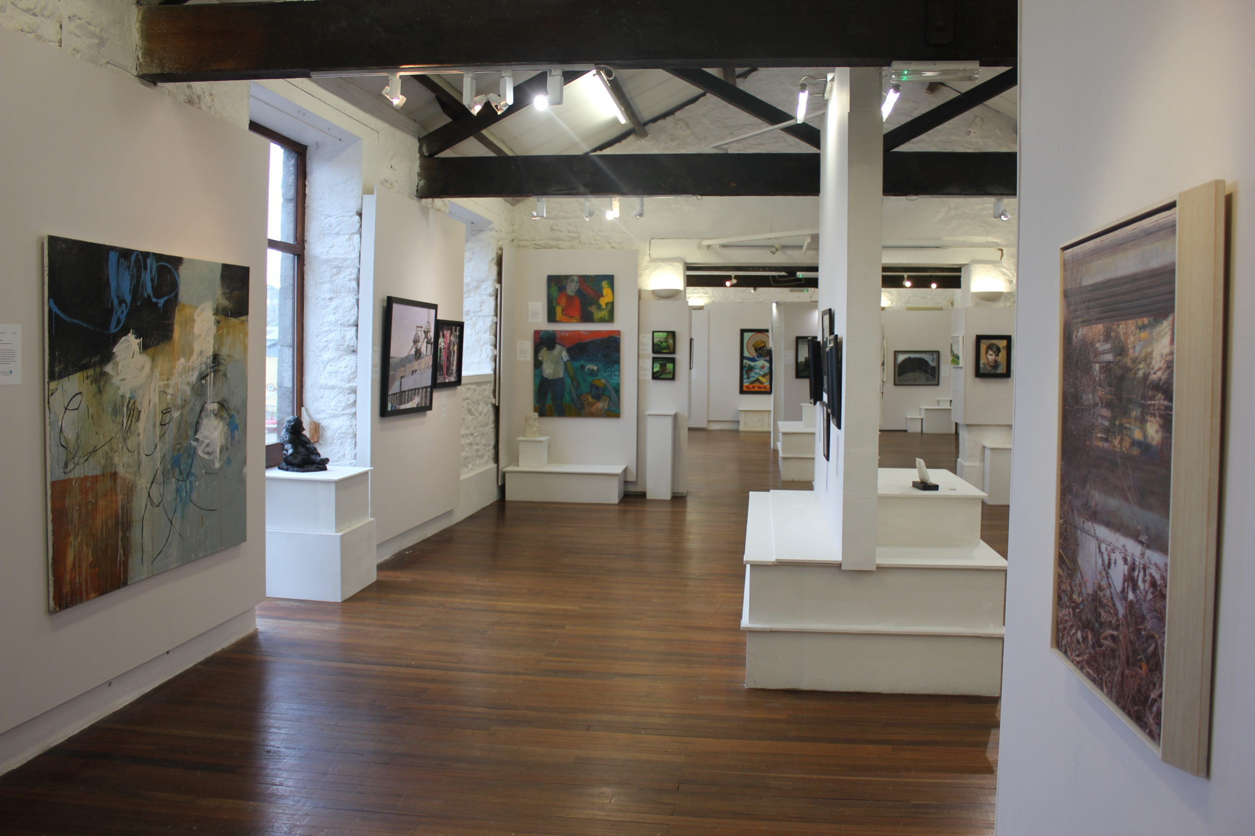 Gallery Space with Exhibition