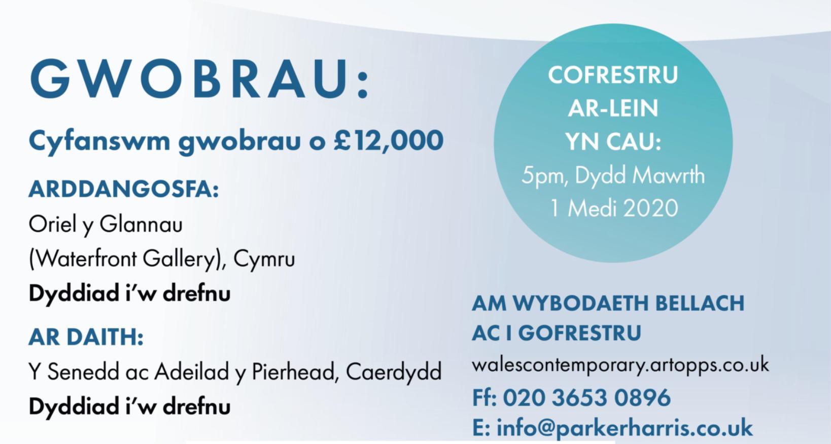Cymru Gyfoes 2020
