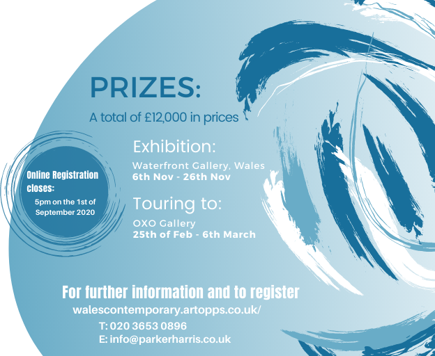 Prizes for Wales Contemporary 2020